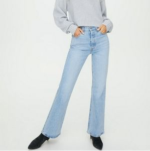 Levi's Ribcage Tango Flare Jeans